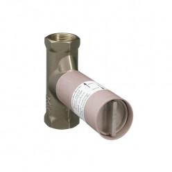 Hansgrohe Montážní tělesa - Základní těleso pro uzavírací ventil pod omítku DN 15 15973180