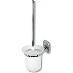 NOVASERVIS Orfeus - WC kartáč nástěnná, výška 360mm, chrom 6933,0