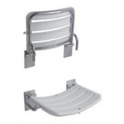 JIKA Universum - Sprchová sedačka, 490mm x 340mm, nerez H3897180030001