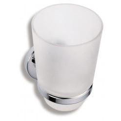 Novaservis Metalia 1 - Držák se sklenkou, chrom/sklo 6106,0