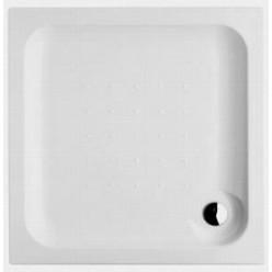 JIKA Deep - Sprchová vanička, čtvercová, samonosná, akrylát, 900mm x 900mm x 80mm, bílá H2118220000001