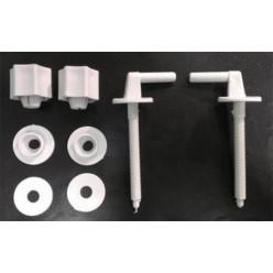 JIKA Lyra Plus - Úchyty plastové ke klozetovému sedátku H8943800000001