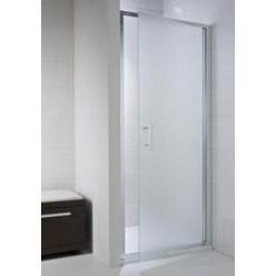 JIKA Cubito Pure - Sprchové dveře pivotové 900 L/P, sklo transparentní, stříbrná lesklá H2542420026681