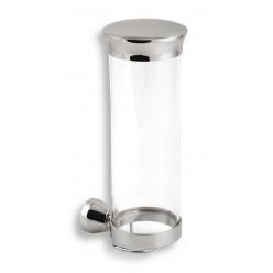 Novaservis Metalia 3 - Zásobník na kosmetické tampóny, chrom 6372,0