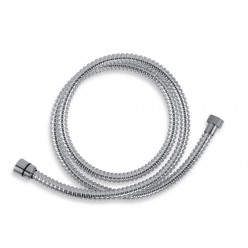NOVASERVIS Sprchová hadice plastová 150 cm chrom SPIRAL/150,0