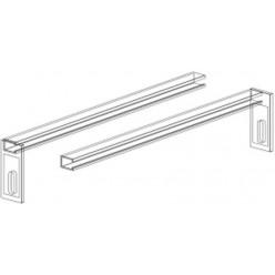 JIKA Modul - PANEL SET pro upevnění rámu do bočních stěn bytového jádra, 800mm x 140mm x 1120mm H8936500000001