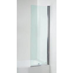 JIKA Tigo - Vanová zástěna rovná, levá, s úpravou Jika perla glass, transparentní sklo, 600 mm x 1500 mm H2562120026681