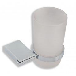 Novaservis Metalia 9 - Držák kartáčků sklo, chrom 0906,0