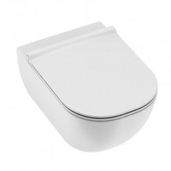 JIKA Mio závěsné WC 530mm, hluboké splachování, Rimless, bílá, Perla H8207141000001