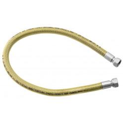 """Novaservis - Plynová připojovací hadice 1/2\"""" MM-0,75m WG0750"""