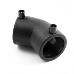 FOX FITTINGS HDPE100 - Elektrofúzní koleno 45° SDR11 DN 90, ELB09045FOX