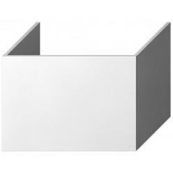 JIKA Cubito Pure - Skříňka pod desku, 64cm, 1 zásuvka, bílý lesklý lak H41J4243015001