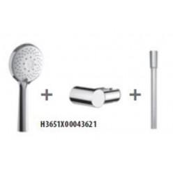 JIKA Cubito Pure - Sprchová souprava Cubito-N 130 mm, 4 proudy, chrom H3651X00043621