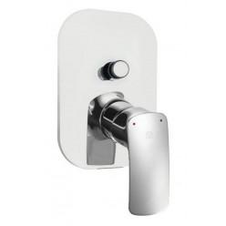 HERZ ELITE vrchní rozeta pro podomítkovou baterii pro vanu a sprchu chrom