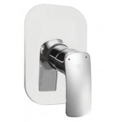 HERZ ELITE vrchní rozeta pro podomítkovou baterii pro sprchu chrom