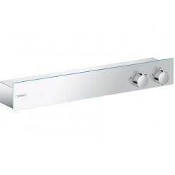 Hansgrohe ShowerTablet - Termostatická baterie ShowerTablet 600 pod omítku, univerzální, pro 2 výstupy, chrom 13108000