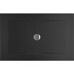 JIKA Cubito Pure - Sprchová vanička ocelová premium 1200x800 mm, černá H2164200160001