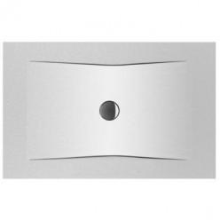 JIKA Cubito Pure - Sprchová vanička ocelová premium 1200x800 mm, antislip, černá H2164206160001