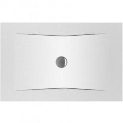 JIKA Cubito Pure - Sprchová vanička ocelová premium 1400x900 mm, antislip, bílá H2164256000001