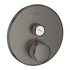Grohe Grohtherm SmartControl - Termostatická sprchová baterie pod omítku s jedním ventilem, kartáčovaný Hard Graphite 29118AL0