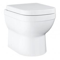 GROHE Euro Ceramic - Stojící WC se sedátkem SoftClose, rimless, alpská bílá 39555000