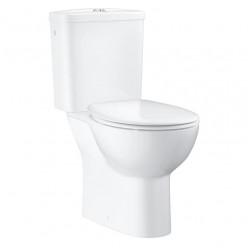 Grohe Bau Ceramic - WC kombi set s nádržkou a sedátkem softclose, alpská bílá 39347000