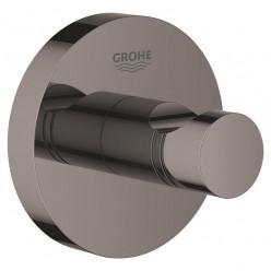 GROHE Essentials - Háček na koupací plášť, tmavý grafit 40364A01