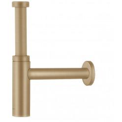 Hansgrohe Sifony - Designový sifon Flowstar S, kartáčovaný bronz 52105140