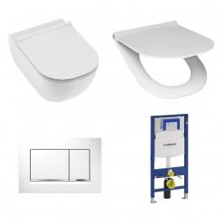 WC set Jika Mio H8207140000001 + sedátko H8917110000631 + wc tlačítko 883.KJ.1 + Duofix
