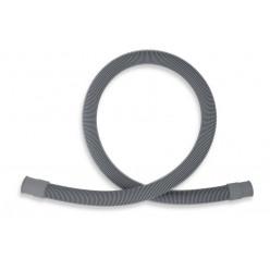 Novaservis - Pračková vypouštěcí hadice rovná šedá 200cm PV/200