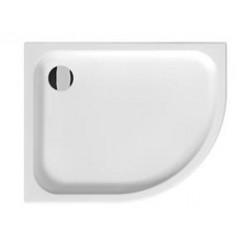 JIKA Tigo - Sprchová vanička keramická 1000x800 mm, antislip, levá, bílá H8522106000001