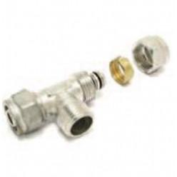 """COMAP - T-kus 9468 16 - 1/2 \""""svěrný spoj mosaz ZV na vodu a topení 9468314-02"""
