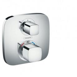 Hansgrohe Ecostat E - Termostatická baterie pod omítku s uzavíracím ventilem, chrom 15707000
