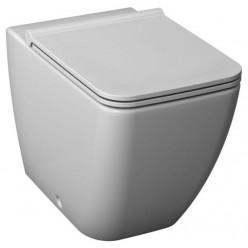 JIKA Pure - Stojící WC s hlubokým splachováním, Antibak, bílá H8234240000001
