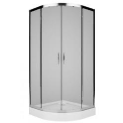 Kolo Rekord - Čtvrtkruhový sprchový kout, 800x800 mm, čiré sklo PKPG80222003