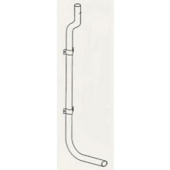 GEBERIT - Potrubí bílé pro vysokou montáž - komplet 238.076.11.1