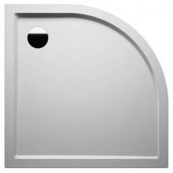 Riho ZÜRICH 280 sprchová vanička čtvrtkruh R55, 90x90x4,5cm, bílá DA8800500000000