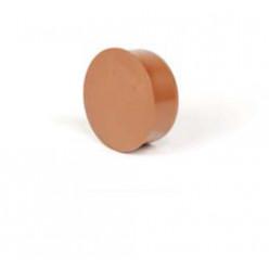 REHAU - Záslepka PVC do hrdla 125 KGM 171909