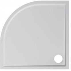 JIKA Padana - Sprchová vanička, litý mramor, 900x900x30 mm, bílá H2119330000001