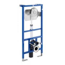 JIKA Modul - WC fluxor systém pro závěsné klozety se samonosným ocelovým rámem, 1120mm x 296mm x 4mm H8936440000001