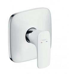 HANSGROHE PuraVida Highflow sprchová podomítková baterie, bílá / chrom