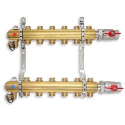 NOVASERVIS Rozdělovač s regulačními ventily 8 okruhů RO08