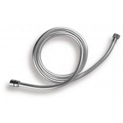 NOVASERVIS Silver - Sprchová hadice 150 cm, stříbrná, plast SILVER/151,0