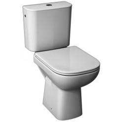 JIKA Deep - WC Kombi včetně nádržky, 650x360x430 mm, zadní odpad, bílá H8266160002811