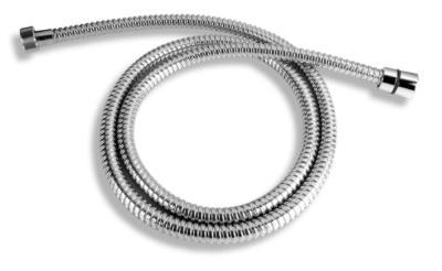 NOVASERVIS Sprchová hadice kovová dvouzámková chrom 150cm H/7000,0