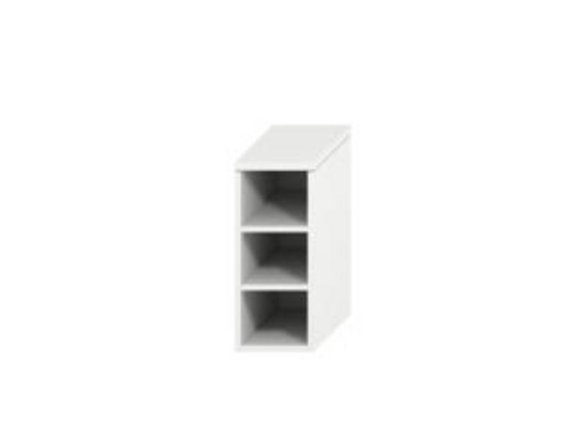 Jika Mio New - Střední skříňka 363x571 mm se 2 zásuvkami, bílá 3418.1.171.507.1