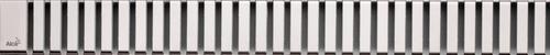 Alca plast Odtokové žlaby - Rošt pro liniový sprchový žlab 750, nerez/mat LINE-750M
