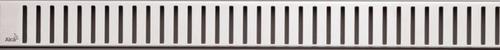 ALCAPLAST - Line - Perforovaný rošt pro podlahový žlab, matný nerez PURE-650M